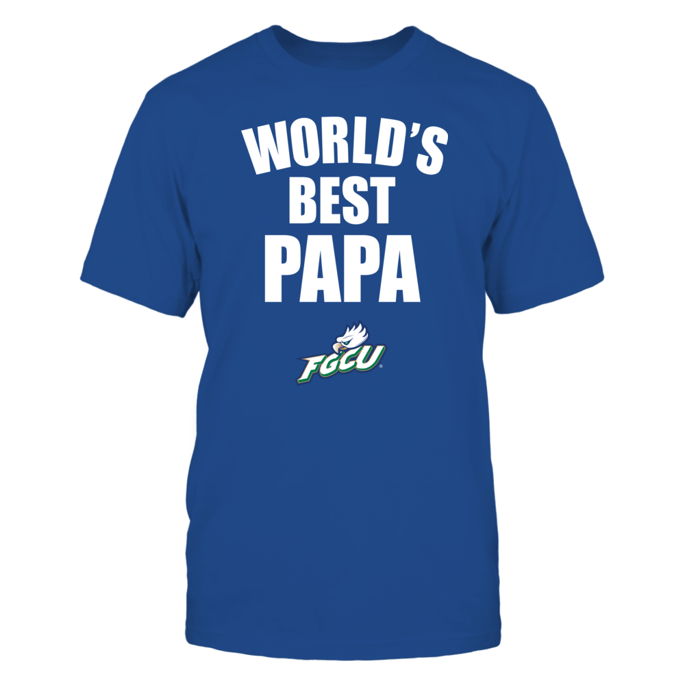 Florida Gulf Coast Eagles - World's Best Papa - Bold Front picture