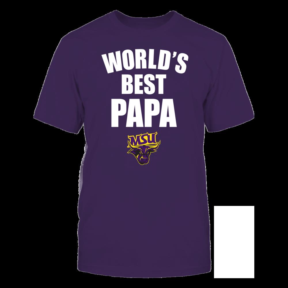 Minnesota State Mavericks - World's Best Papa - Bold Front picture