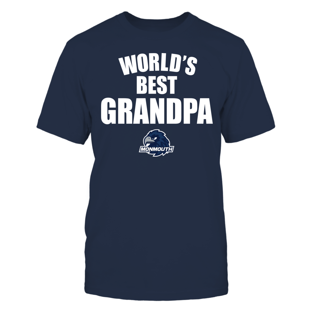 Monmouth Hawks - World's Best Grandpa - Bold Front picture