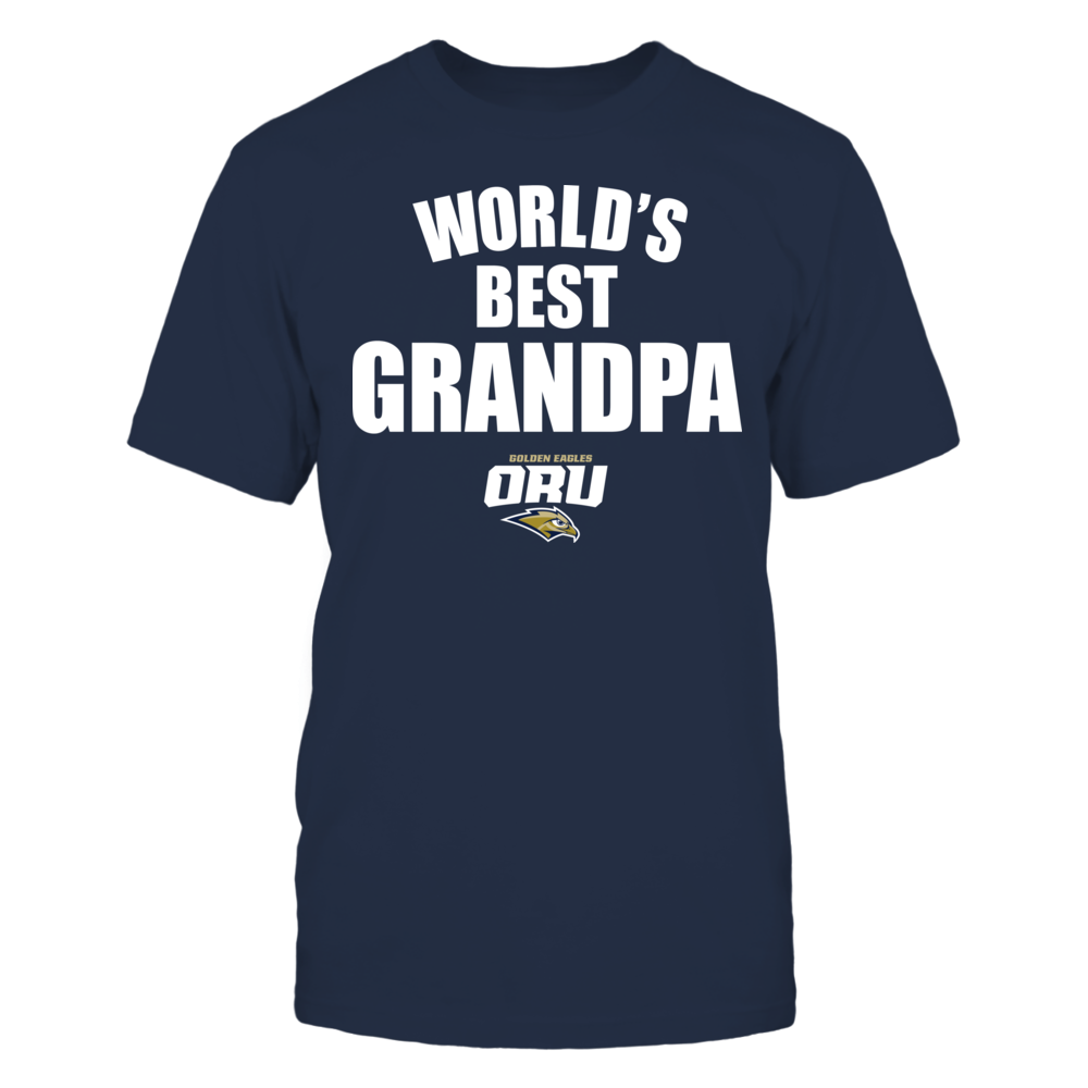 Oral Roberts Golden Eagles - World's Best Grandpa - Bold Front picture