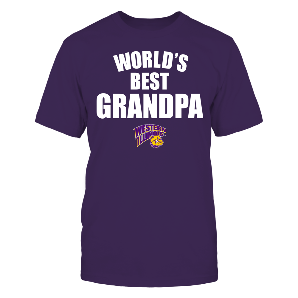 Western Illinois Leathernecks - World's Best Grandpa - Bold Front picture