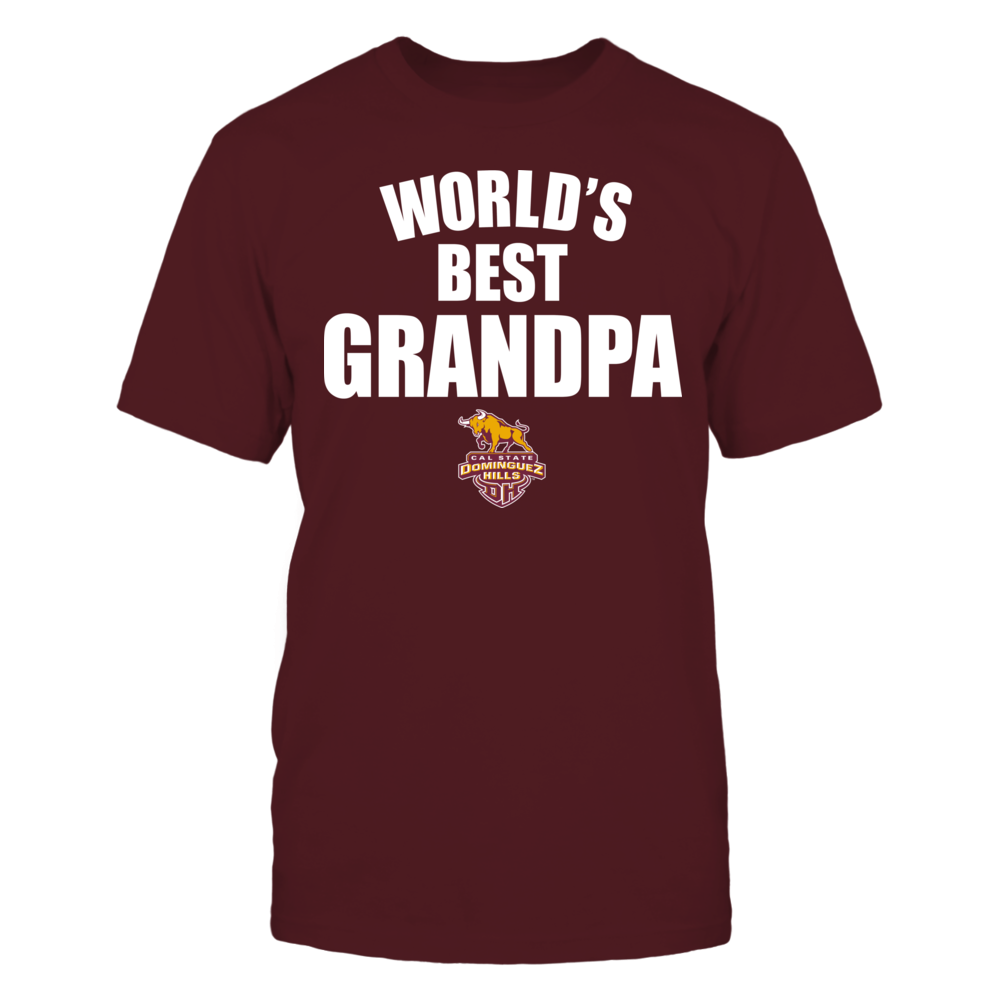 Cal State Dominguez Hills Toros - World's Best Grandpa - Bold Front picture