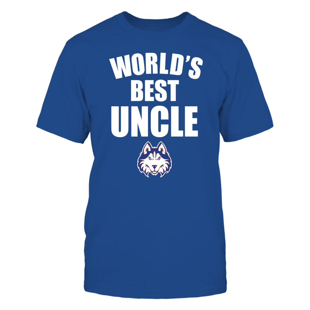 Houston Baptist Huskies - World's Best Uncle - Bold Front picture