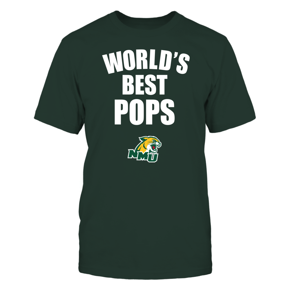Northern Michigan Wildcats - World's Best Pops - Bold Front picture