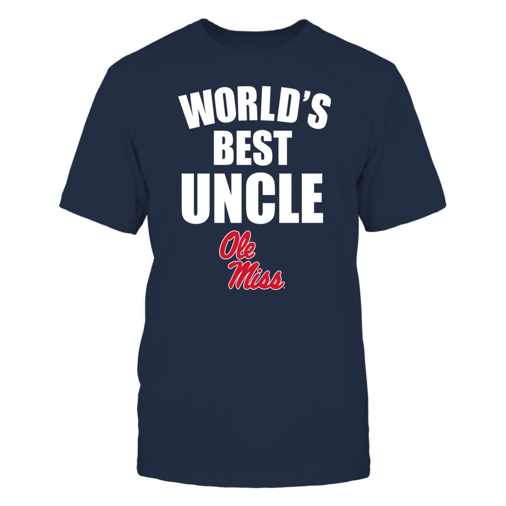 Ole Miss Rebels - World's Best Uncle - Bold Front picture