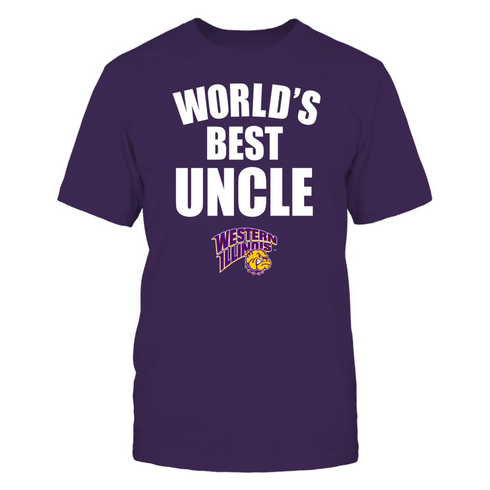 Western Illinois Leathernecks - World's Best Uncle - Bold Front picture