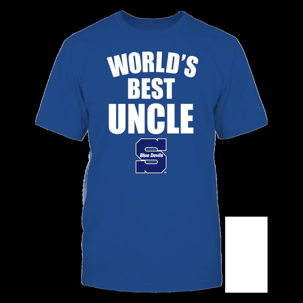 Wisconsin Stout Blue Devils - World's Best Uncle - Bold Front picture