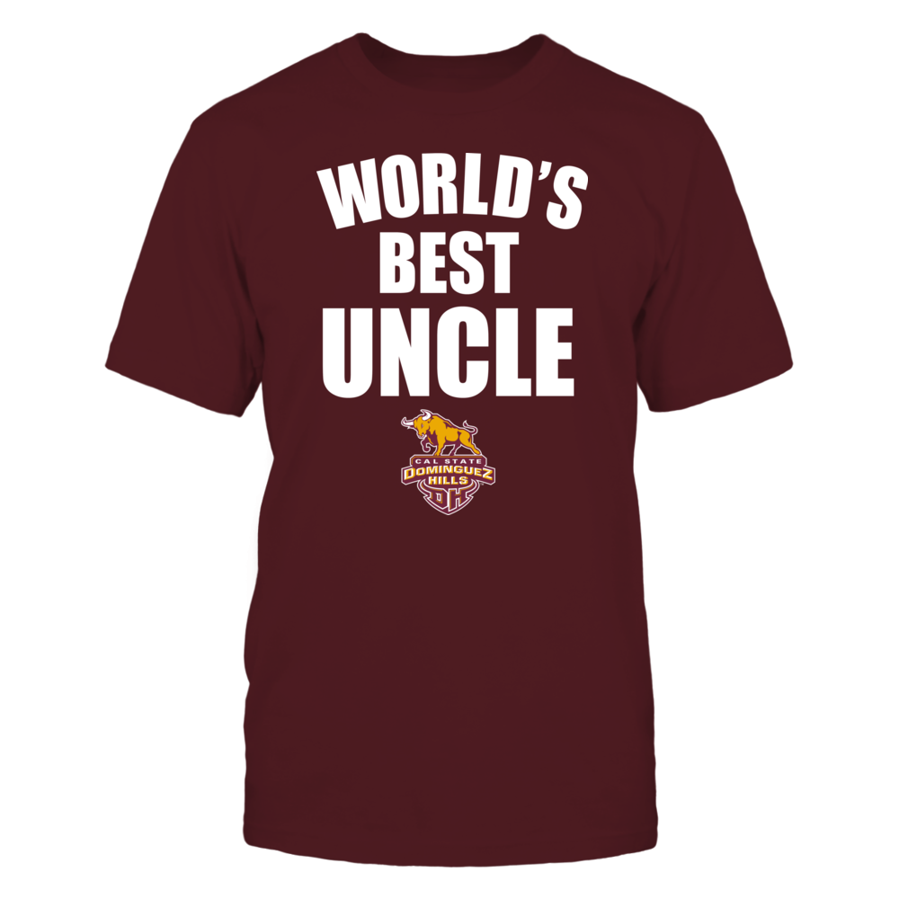 Cal State Dominguez Hills Toros - World's Best Uncle - Bold Front picture