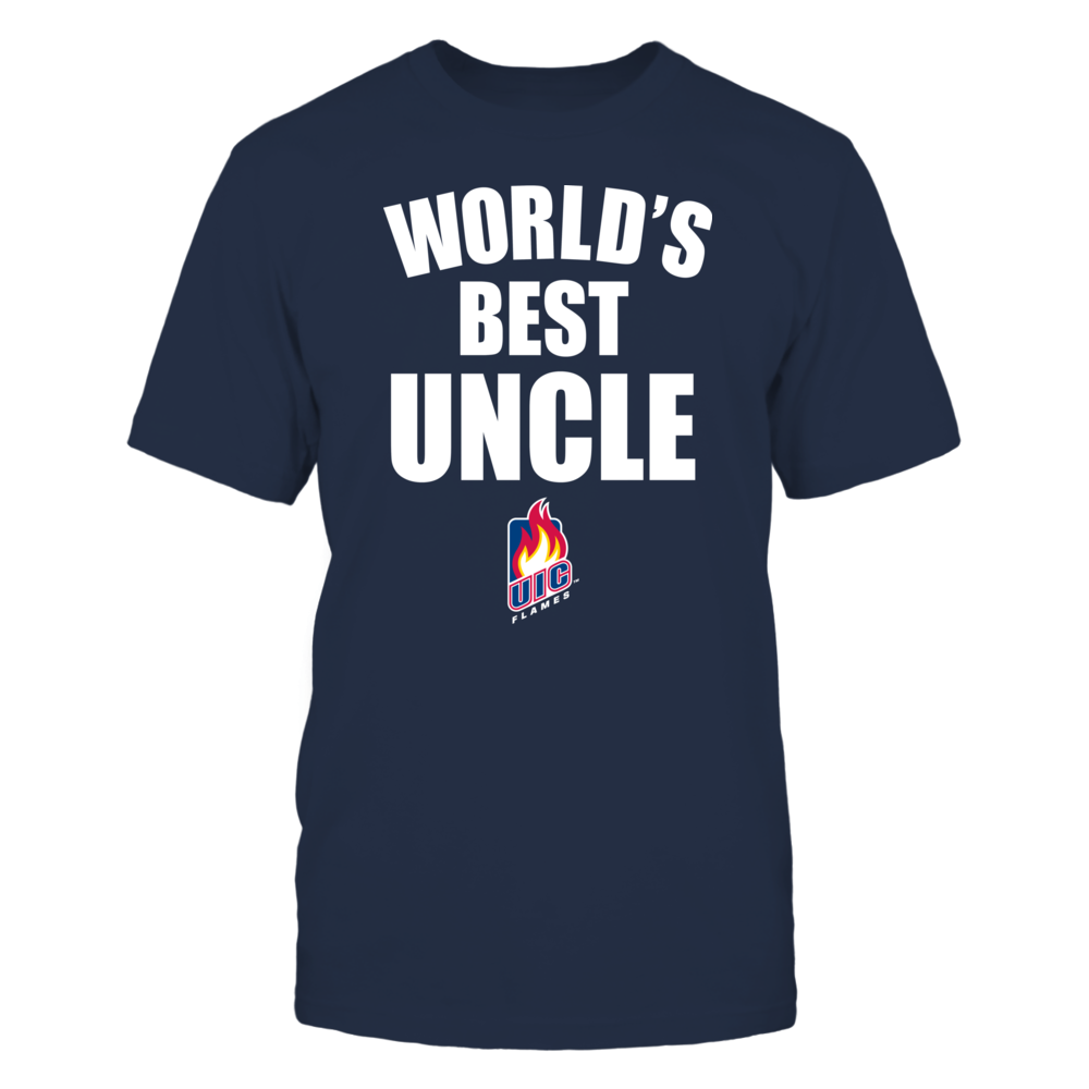 UIC Flames - World's Best Uncle - Bold Front picture