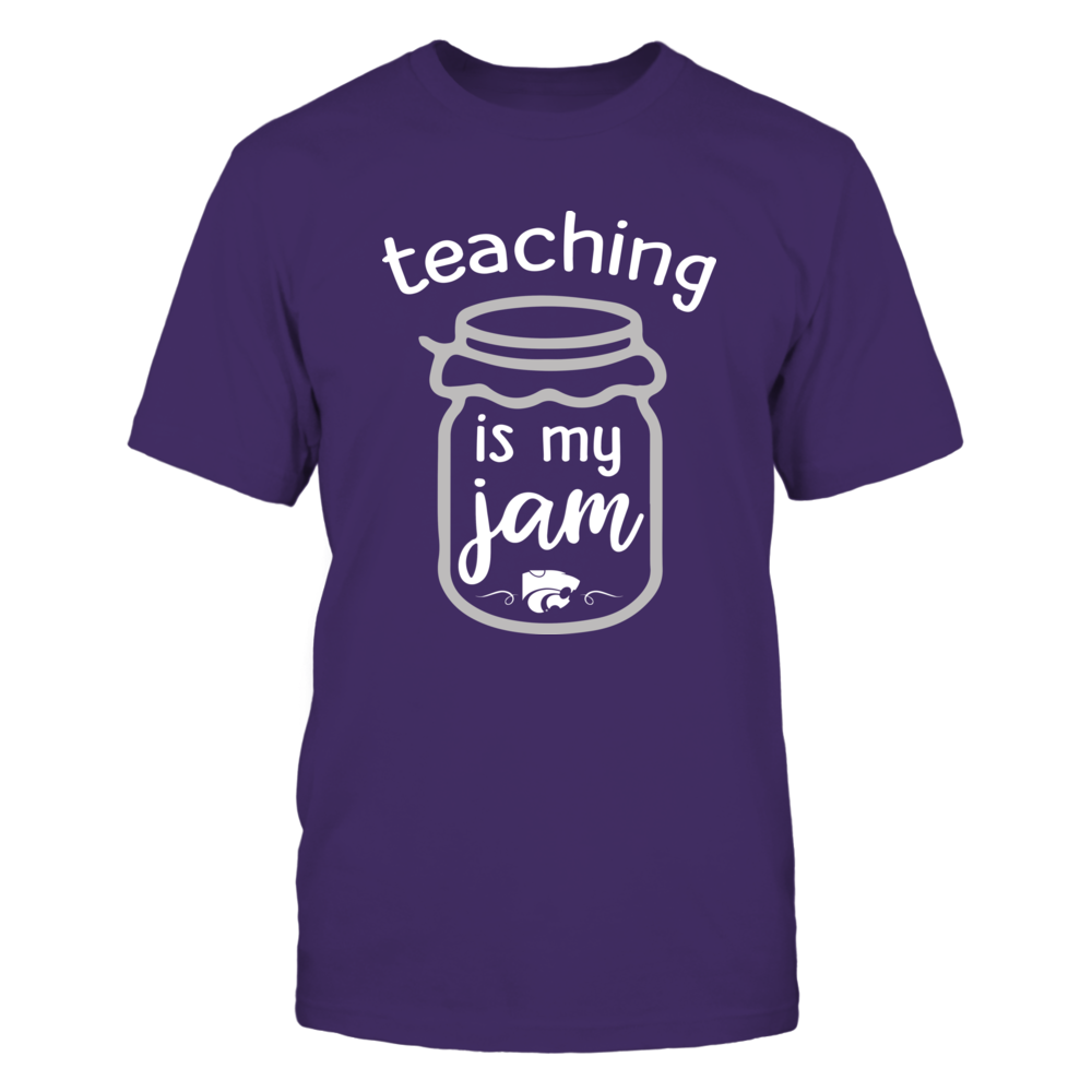 Kansas State Wildcats - Teaching Is My Jam - Teacher Front picture