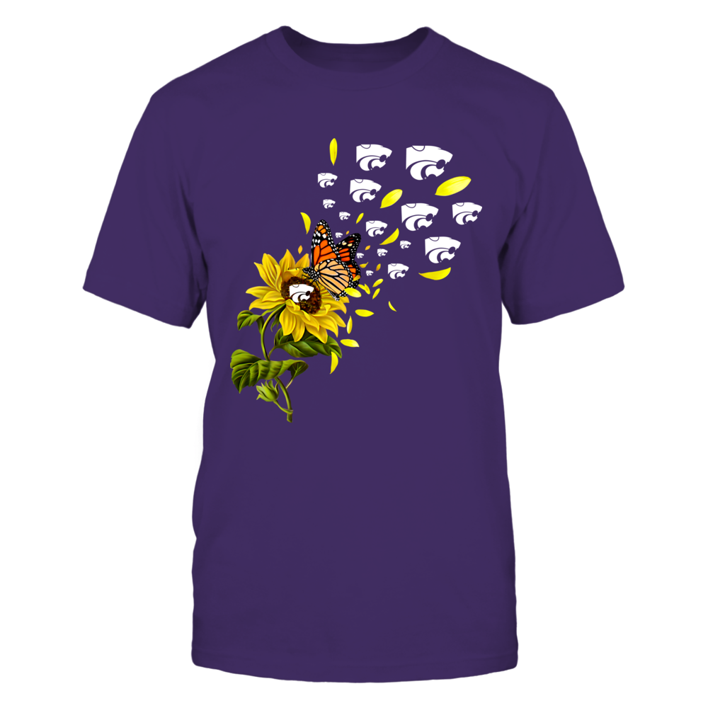 Kansas State Wildcats - Sunflower - Flying Logo Front picture