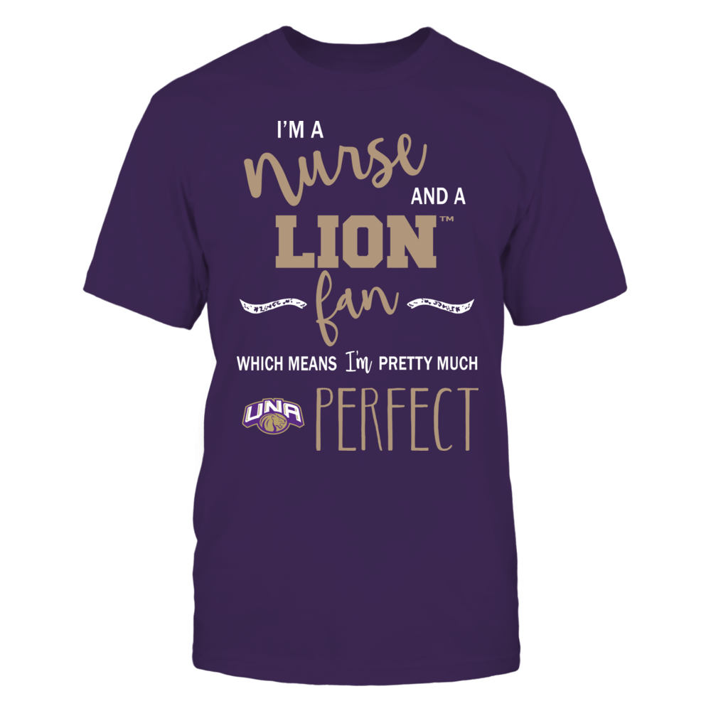 North Alabama Lions - Perfect Nurse Front picture