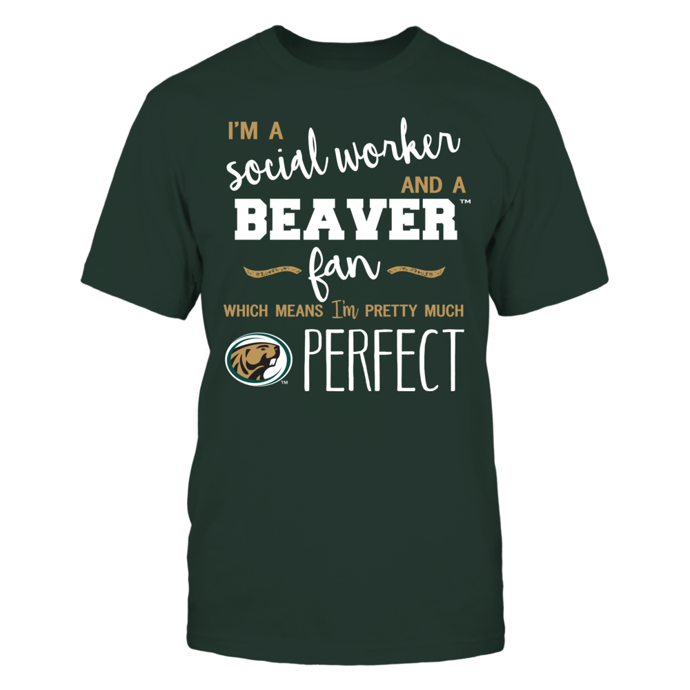 Bemidji State Beavers - Perfect Social Worker - Team Front picture