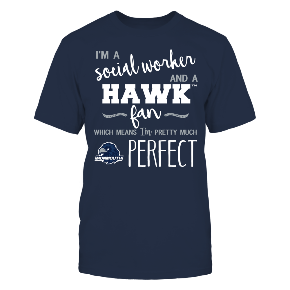 Monmouth Hawks - Perfect Social Worker - Team Front picture