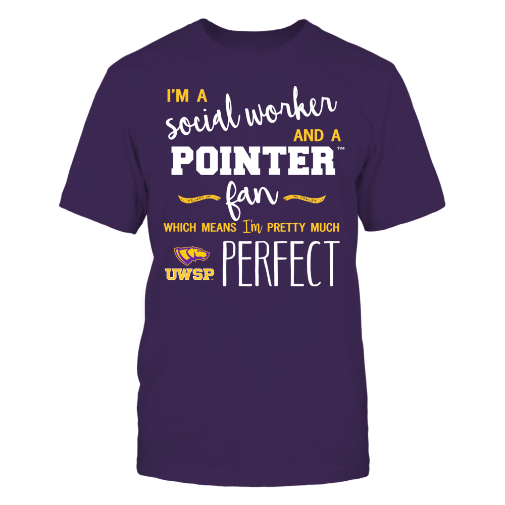 Wisconsin-Stevens Point Pointers - Perfect Social Worker - Team Front picture