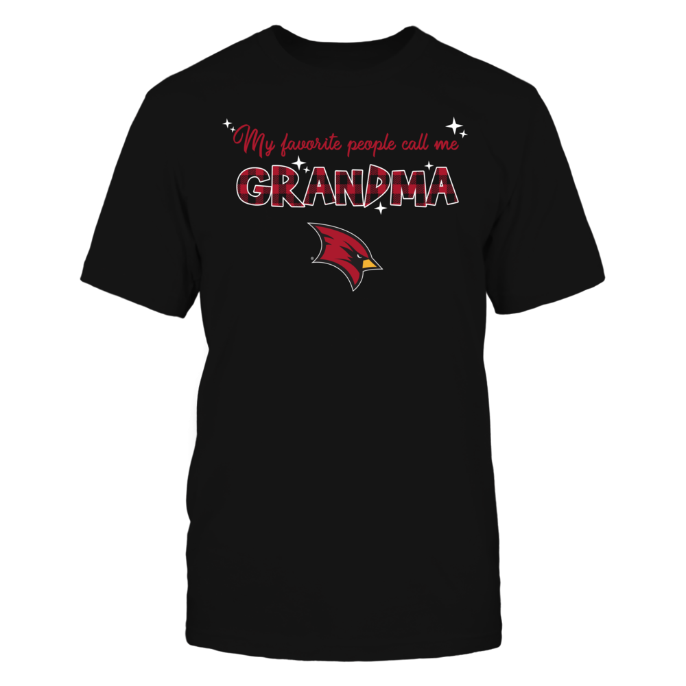 Saginaw Valley State Cardinals - My Favorite People Call Me Mimi - Checkered Pattern Front picture
