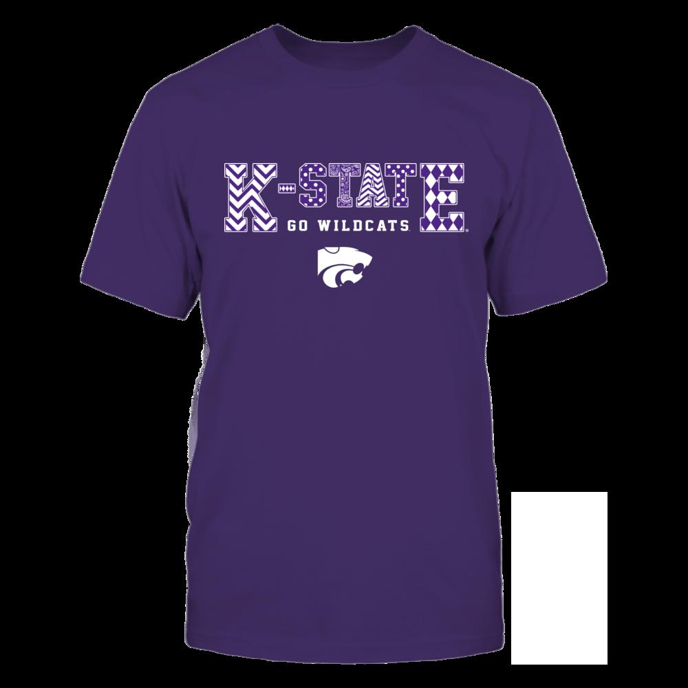 Kansas State Wildcats - Team Slogan Pattern Front picture