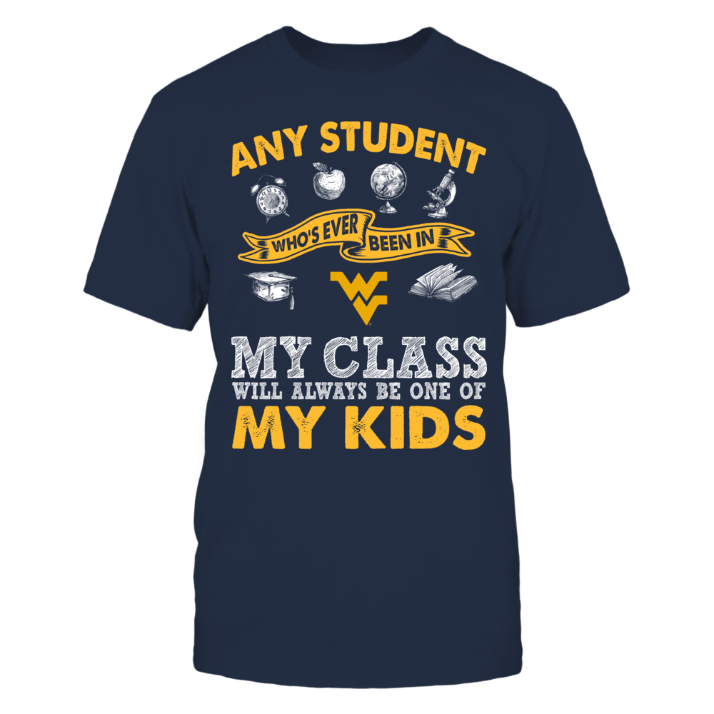West Virginia Mountaineers - Teacher - One Of My Kids Front picture