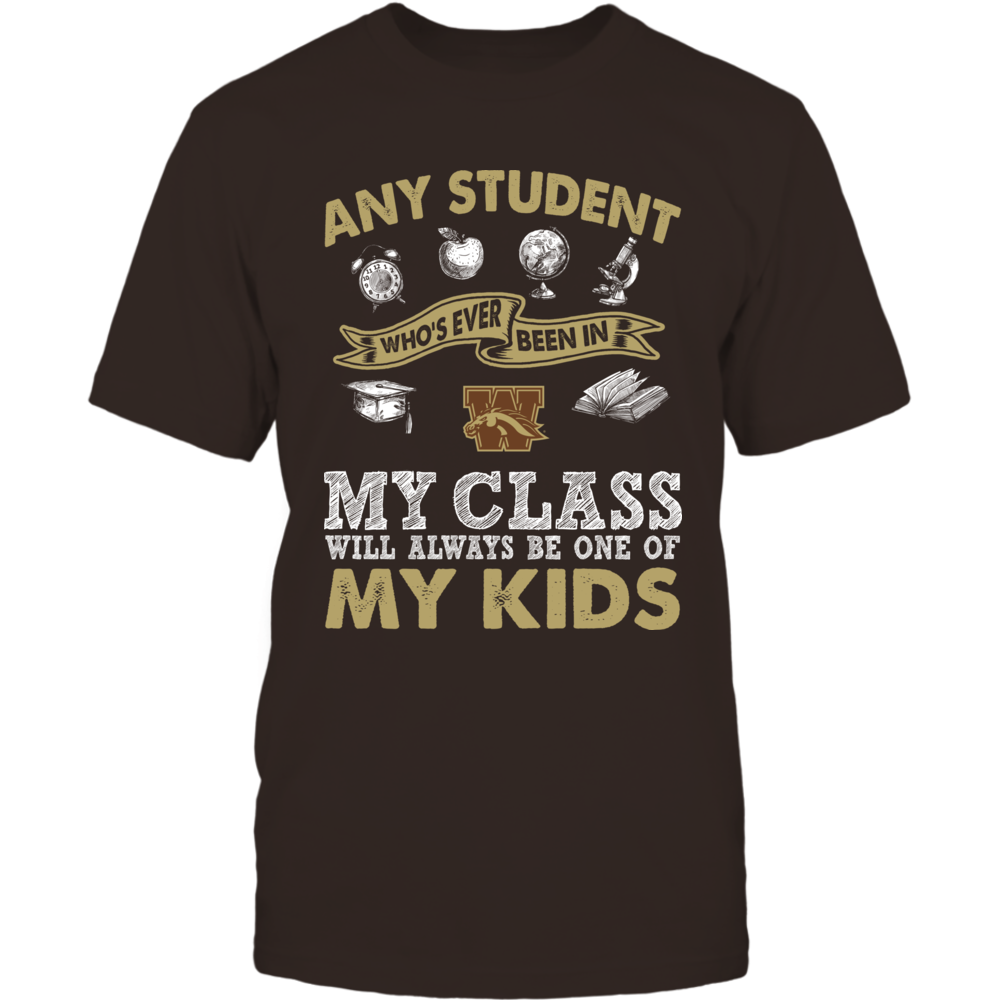 Western Michigan Broncos - Teacher - One Of My Kids Front picture