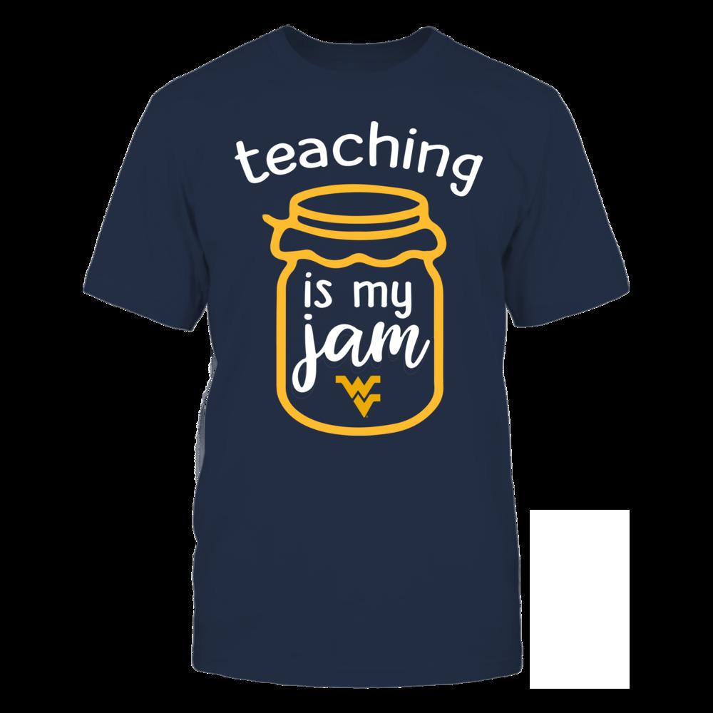 West Virginia Mountaineers - Teaching is My Jam - Jar Front picture