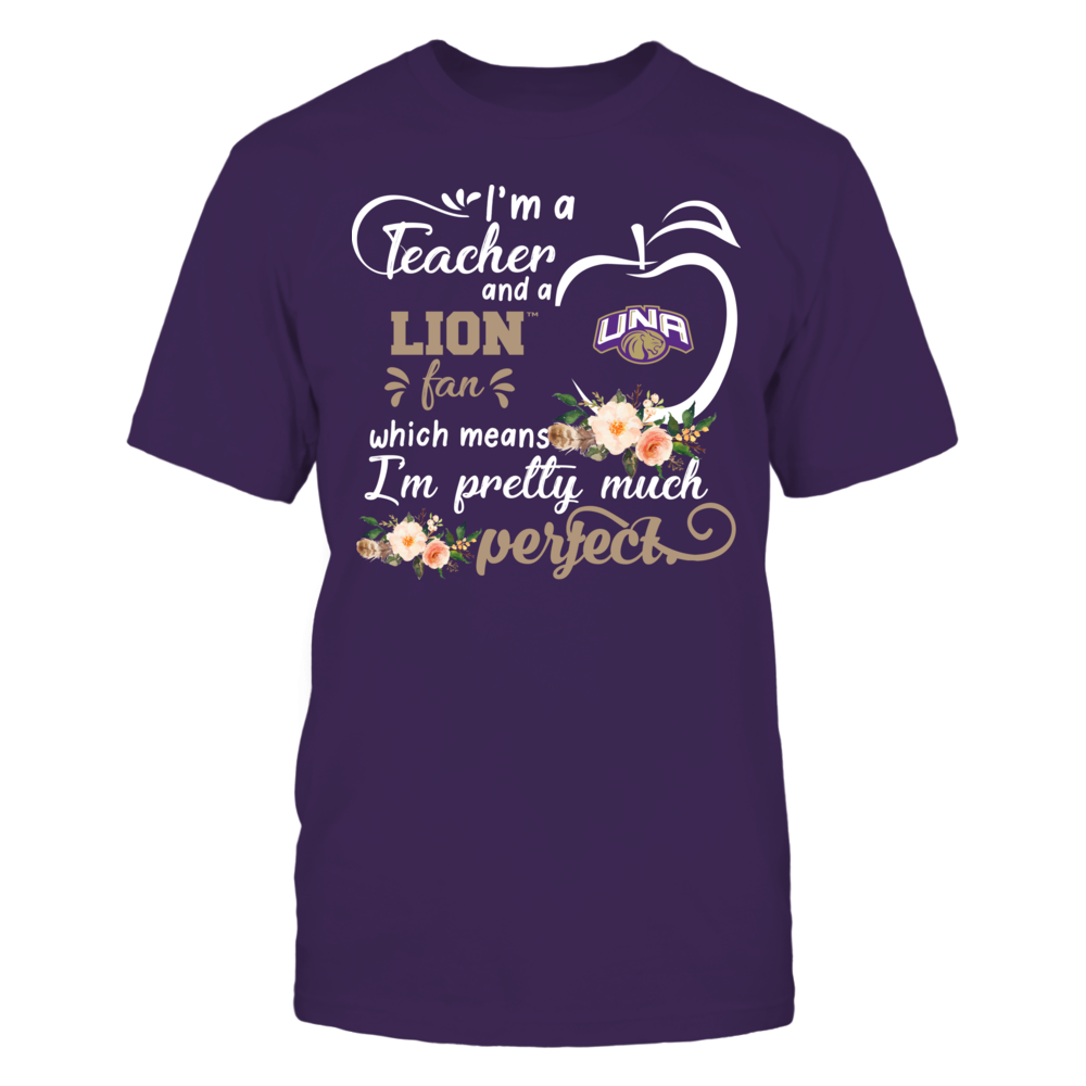 North Alabama Lions - Perfect Teacher - Floral Front picture