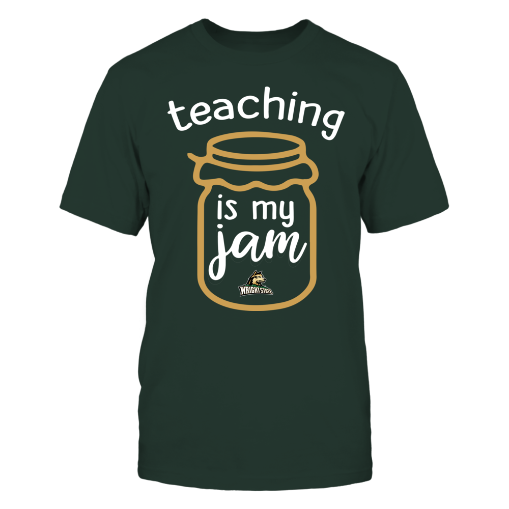 Wright State Raiders - Teaching is My Jam - Jar Front picture