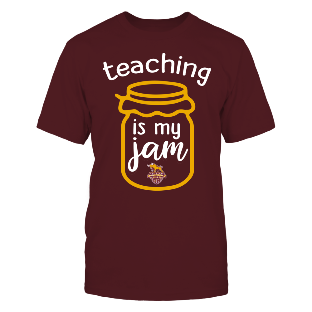 Cal State Dominguez Hills Toros - Teaching is My Jam - Jar Front picture