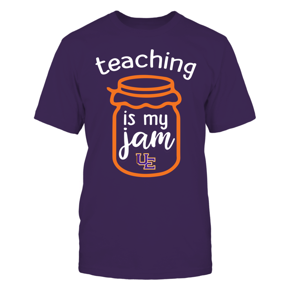 Evansville Purple Aces - Teaching is My Jam - Jar Front picture