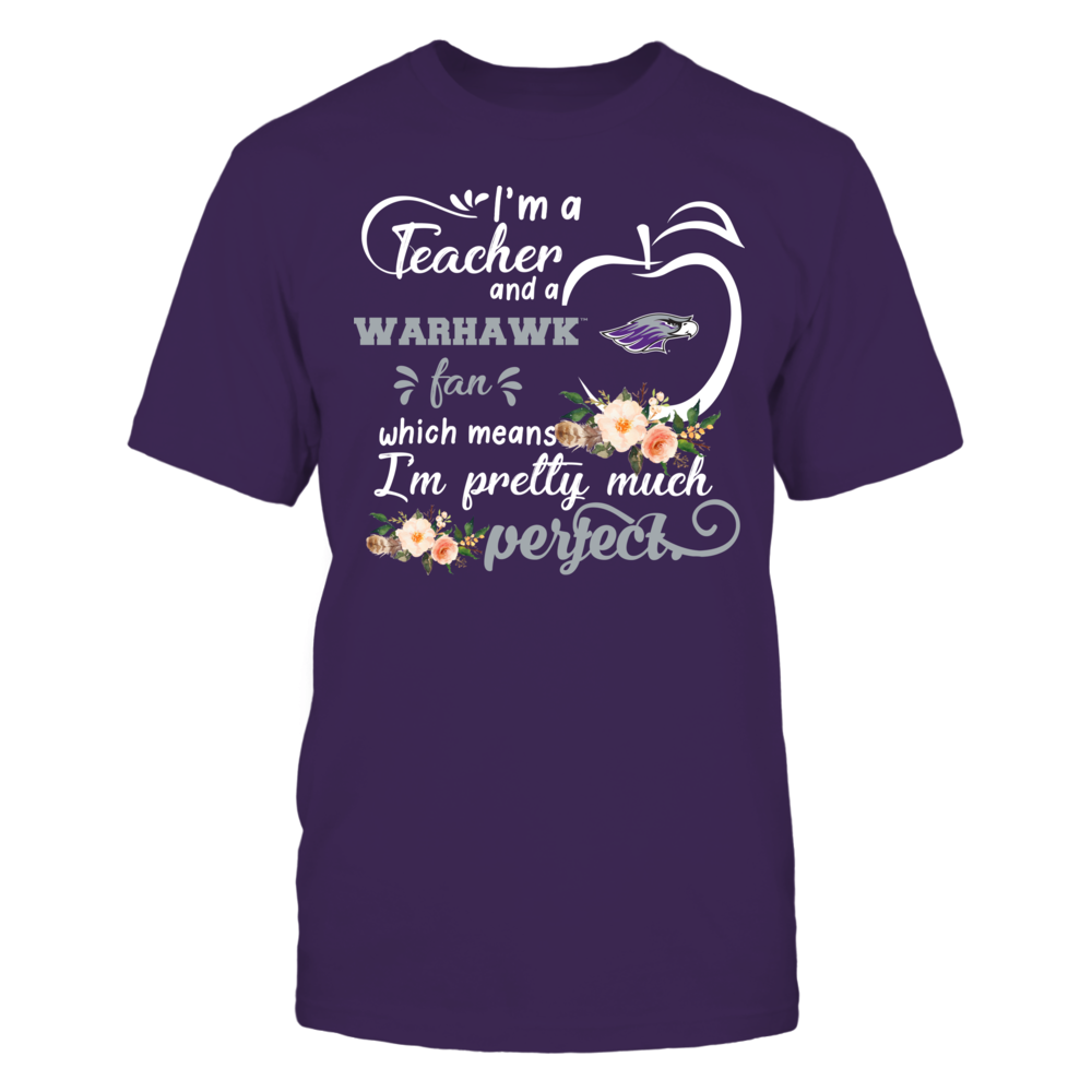 Wisconsin-Whitewater Warhawks - Perfect Teacher - Floral Front picture