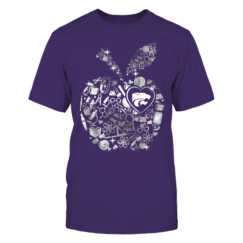 Kansas State Wildcats -  Galaxy Teacher Things Inside Apple Front picture