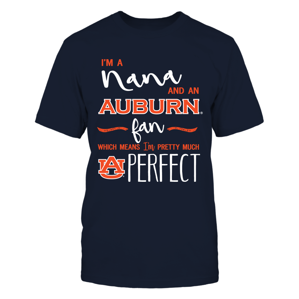 Auburn Tigers - Perfect Nana And Fan Front picture