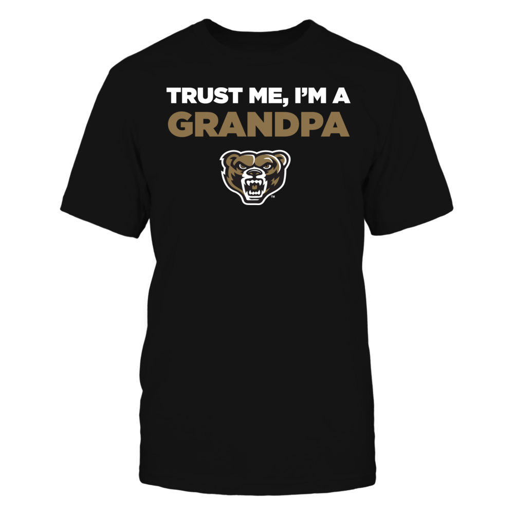 Oakland Golden Grizzlies - Trust Me - I'm a Grandpa - Team Front picture