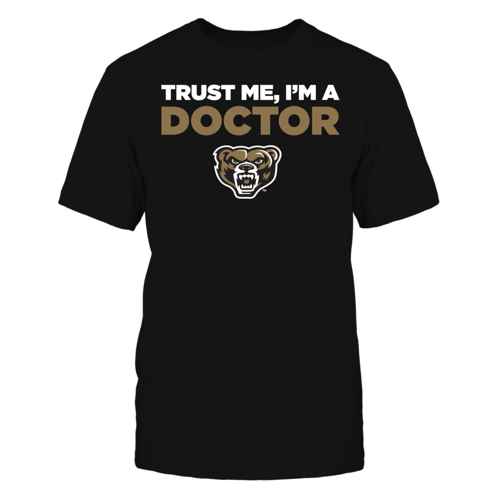 Oakland Golden Grizzlies - Trust Me - I'm a Doctor - Team Front picture