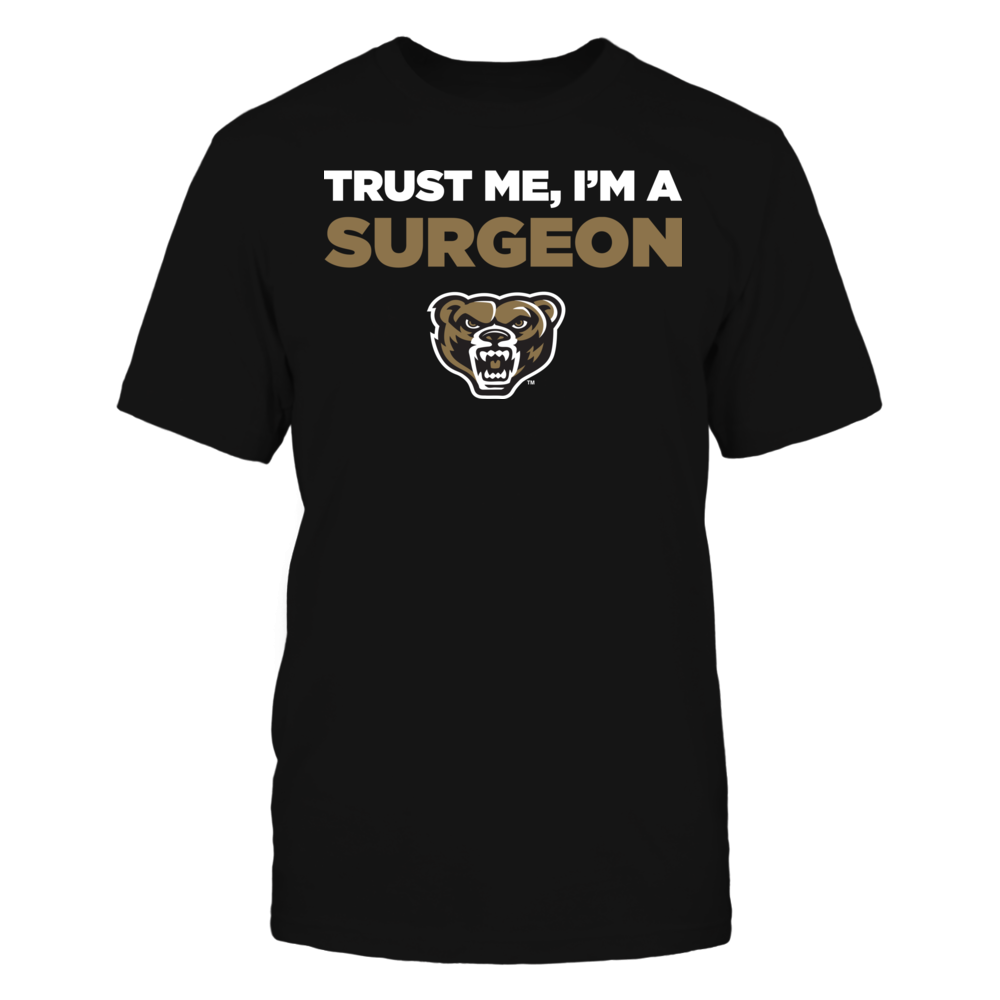 Oakland Golden Grizzlies - Trust Me - I'm a Surgeon - Team Front picture