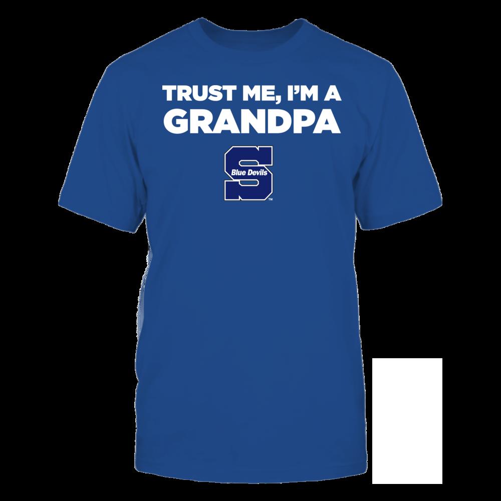 Wisconsin Stout Blue Devils - Trust Me - I'm a Grandpa - Team Front picture