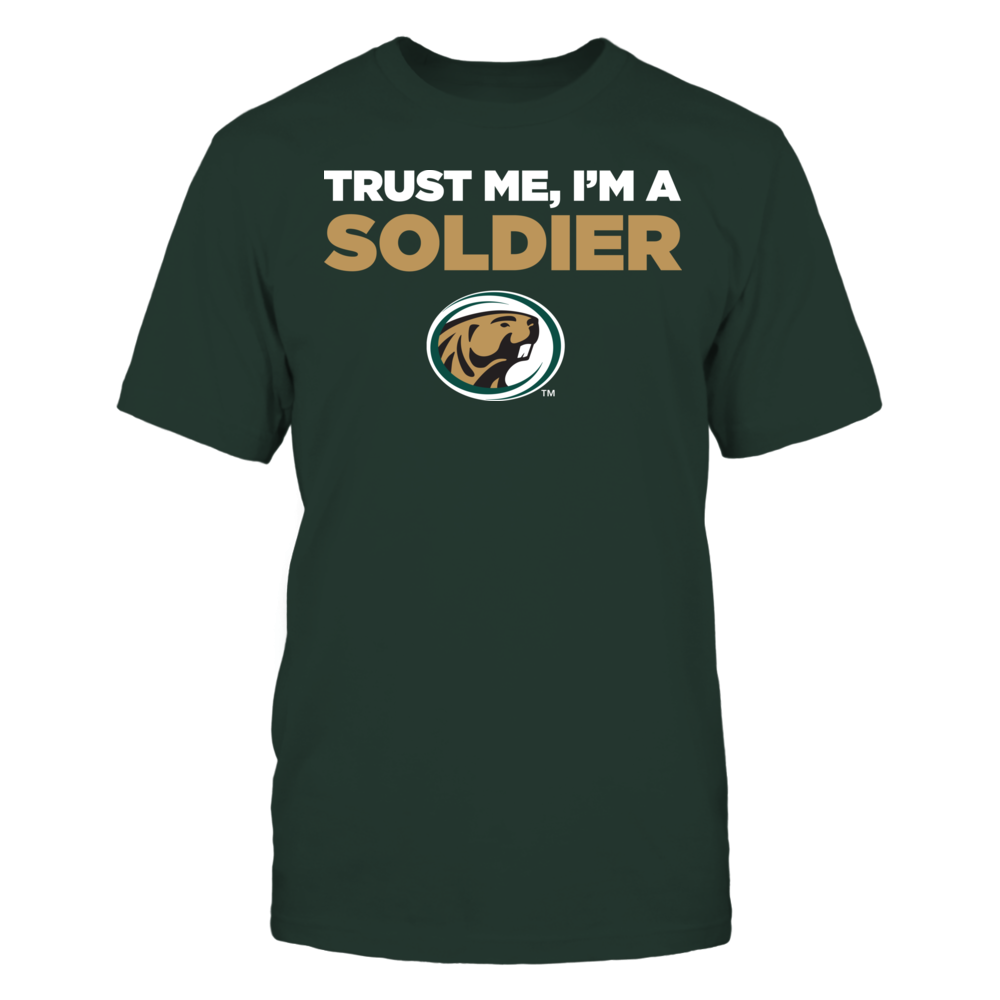 Bemidji State Beavers - Trust Me - I'm a Soldier - Team Front picture
