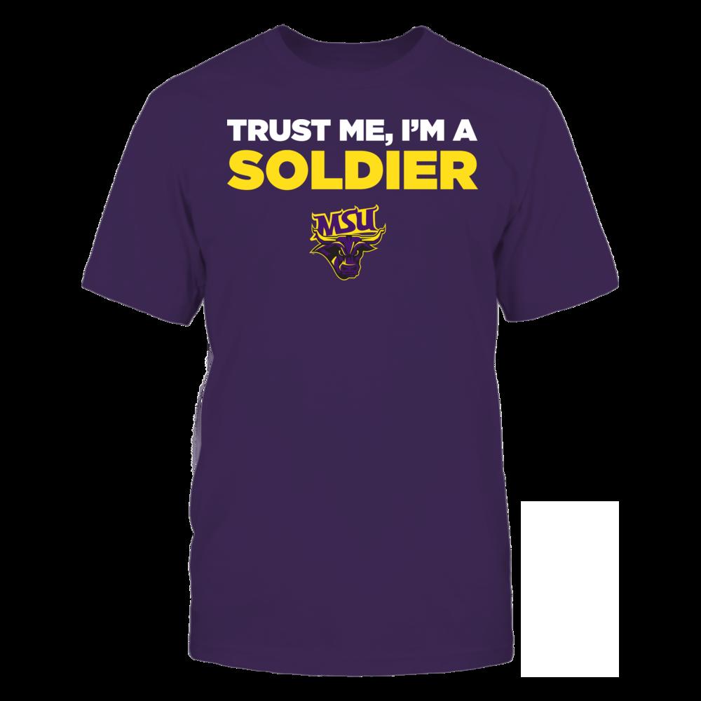 Minnesota State Mavericks - Trust Me - I'm a Soldier - Team Front picture