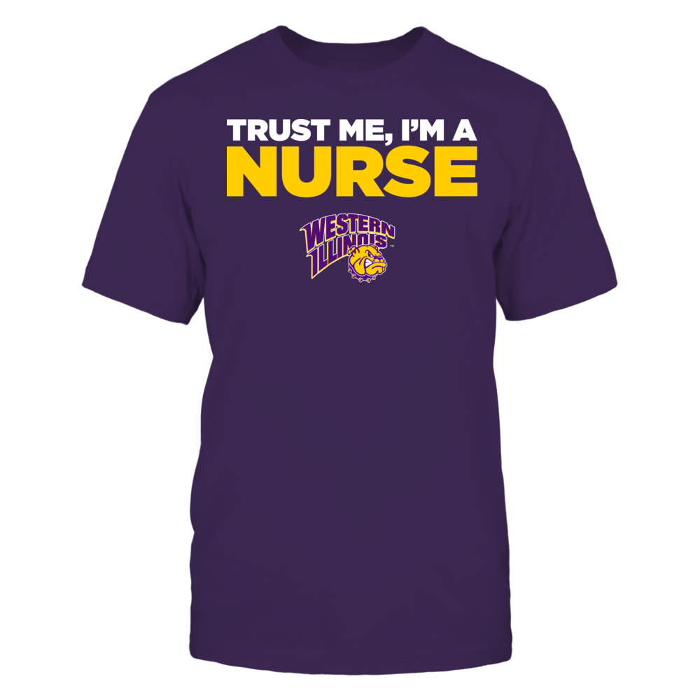 Western Illinois Leathernecks - Trust Me - I'm a Nurse - Team Front picture