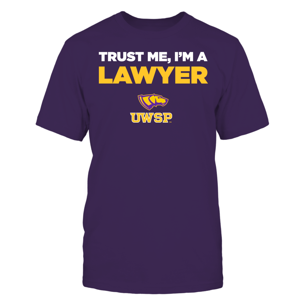 Wisconsin-Stevens Point Pointers - Trust Me - I'm a Lawyer - Team Front picture