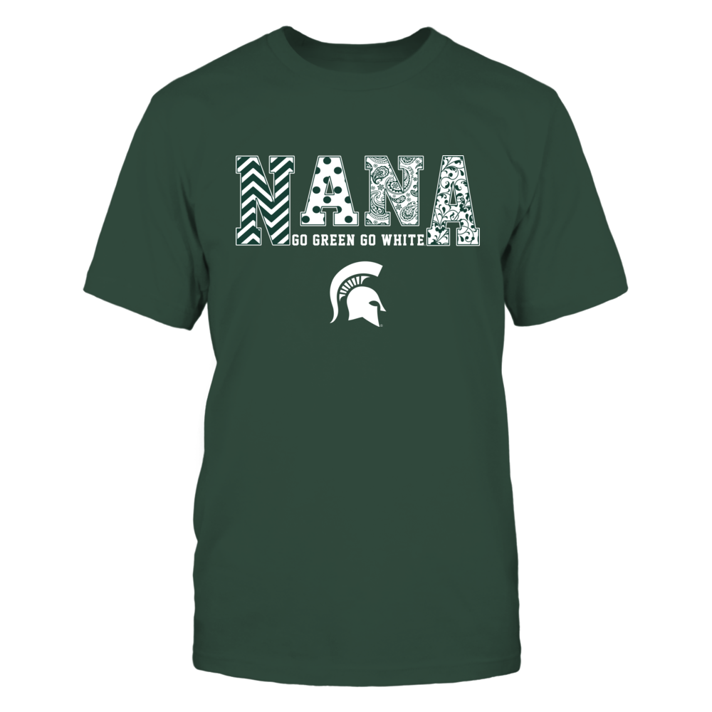 Michigan State Spartans - Nana - Slogan- Patterned Front picture