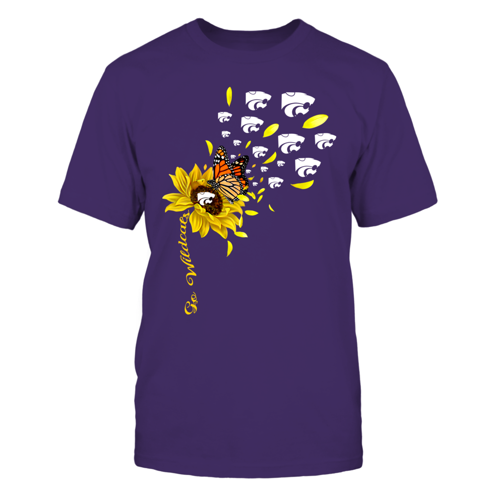 Kansas State Wildcats - Sunflower - Flying Logo - Team Slogan - IF13-IC13-DS27 Front picture