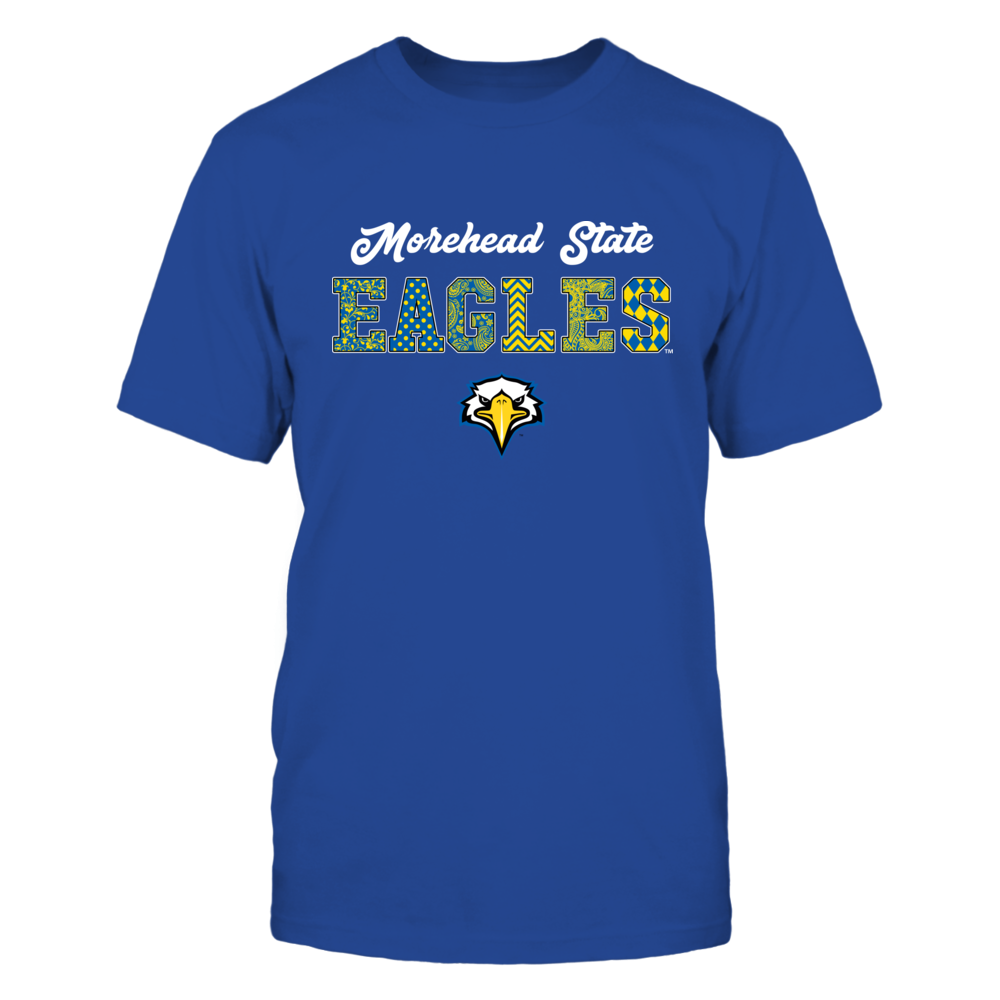 Morehead State Eagles - Patterned Letters - IF13-IC13-DS45 Front picture