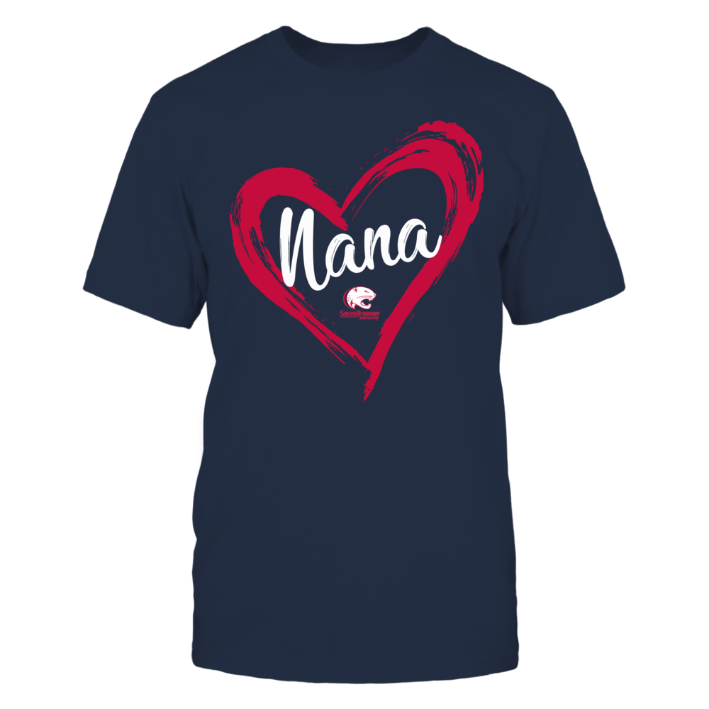 South Alabama Jaguars - Drawing Heart - Nana Front picture