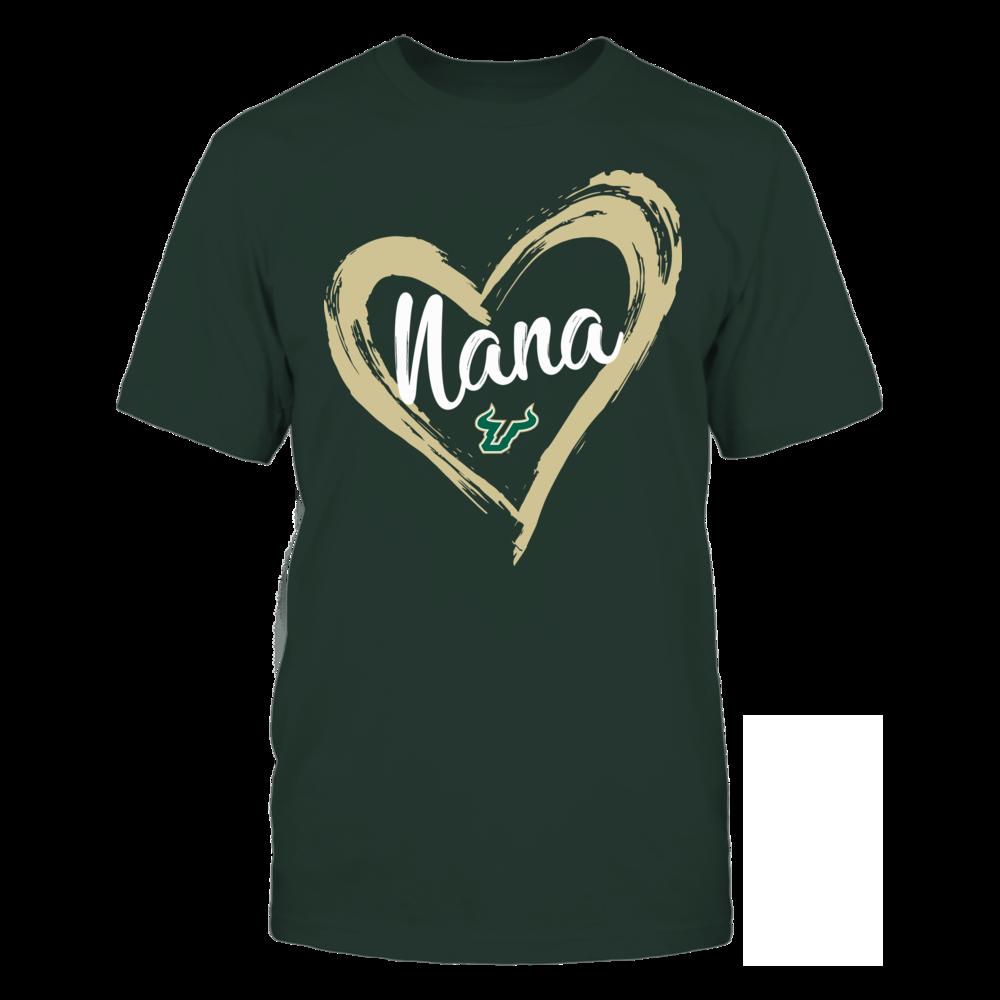 South Florida Bulls - Drawing Heart - Nana Front picture