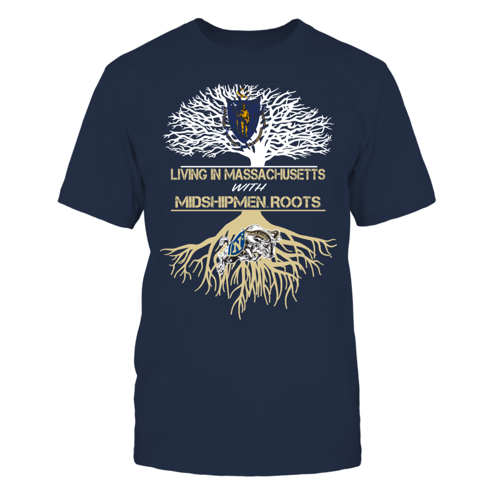 Navy Midshipmen - Living Roots Massachusetts Front picture
