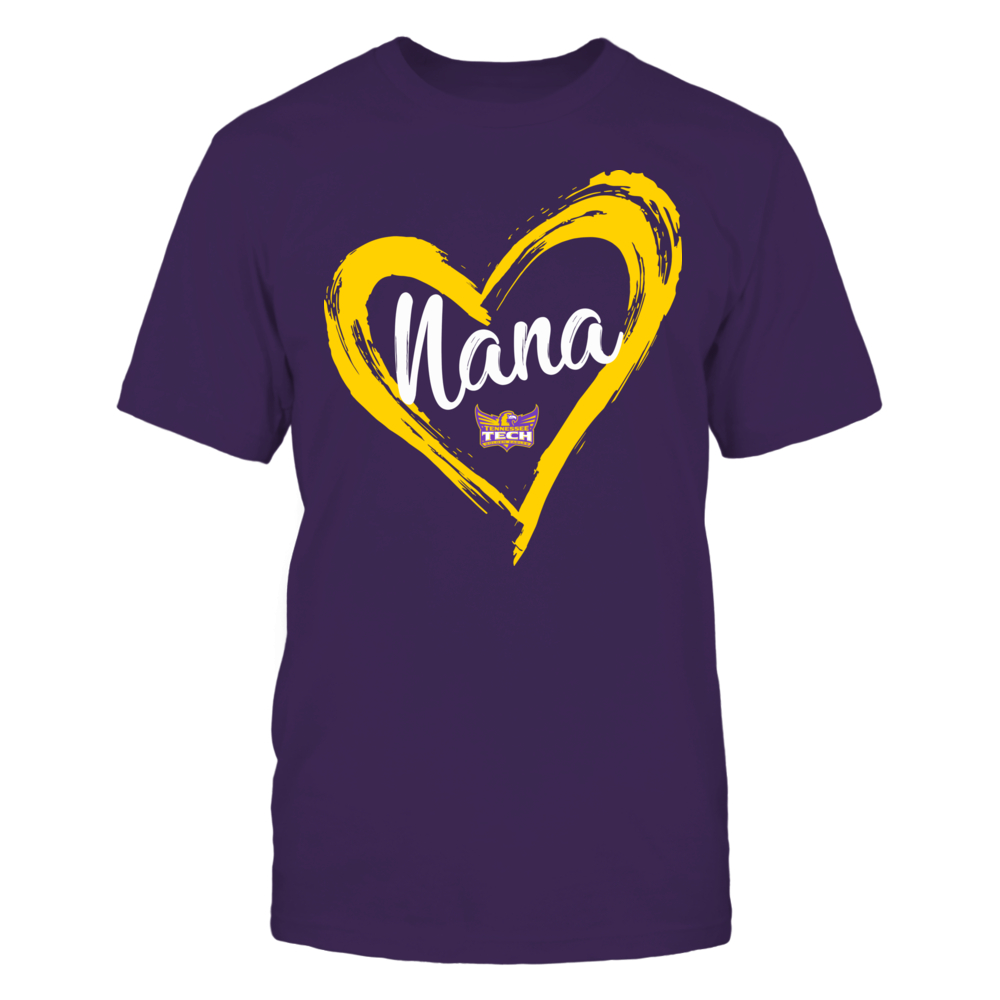 Tennessee Tech Golden Eagles - Drawing Heart - Nana Front picture