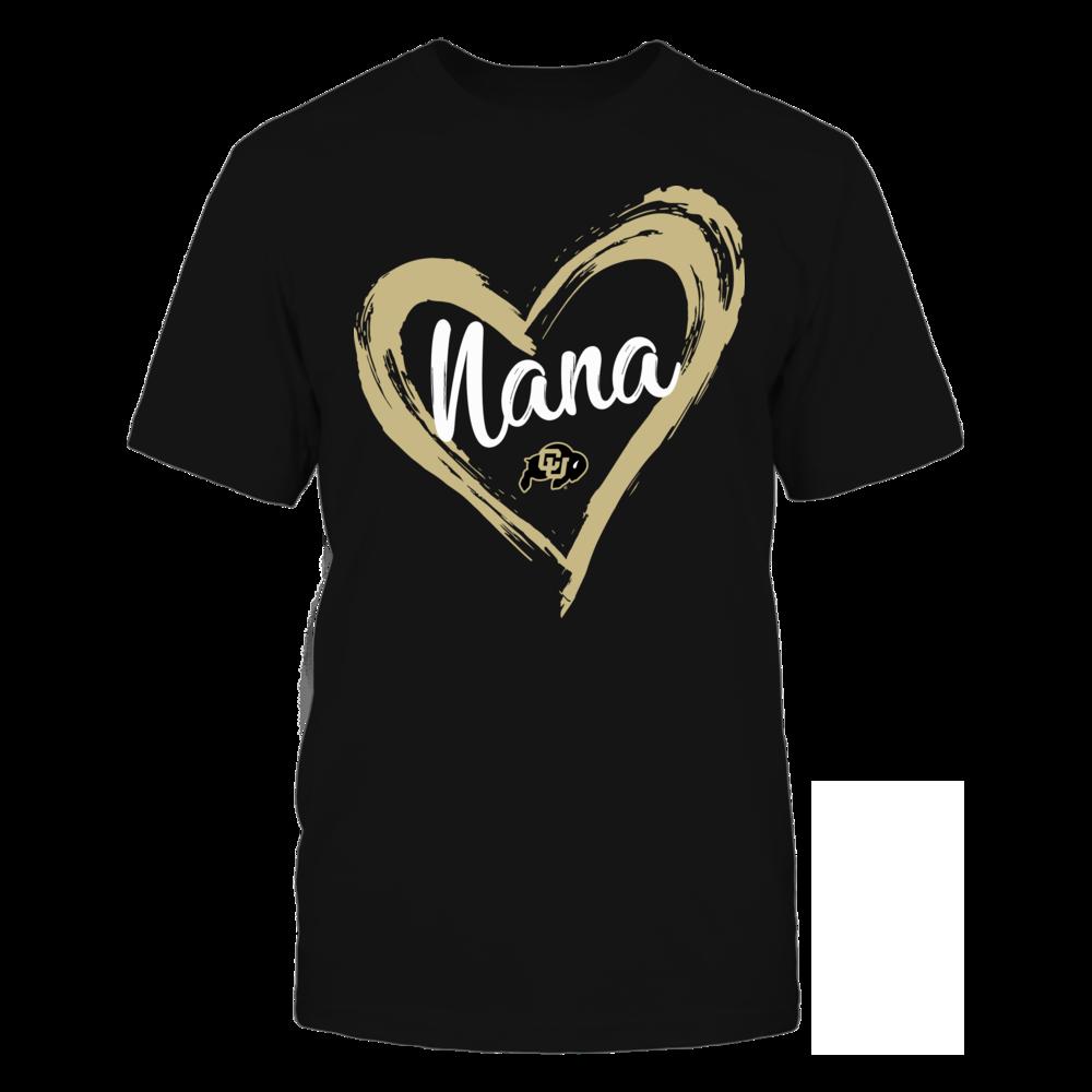 Colorado Buffaloes - Drawing Heart - Nana Front picture