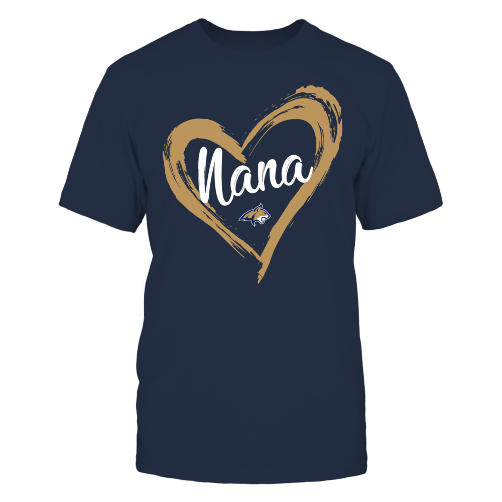 Montana State Bobcats - Drawing Heart - Nana Front picture