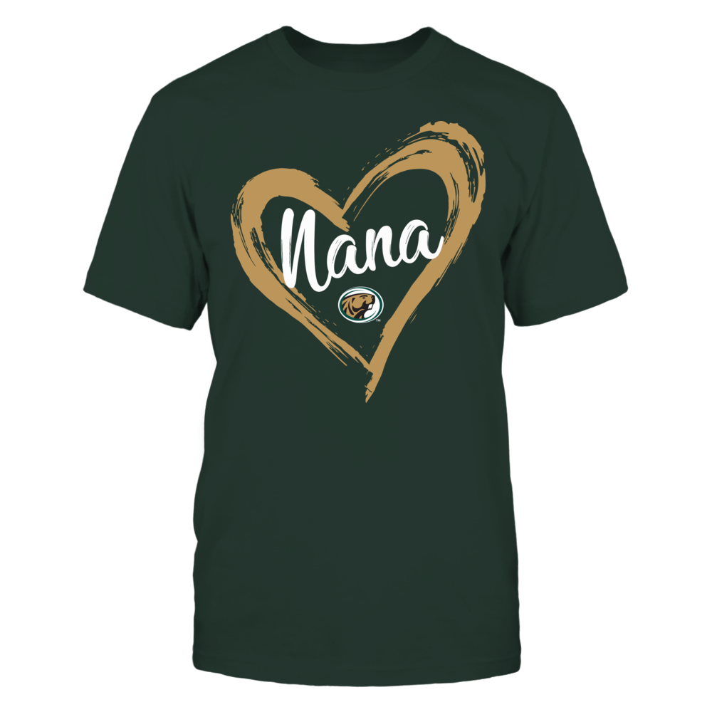 Bemidji State Beavers - Drawing Heart - Nana Front picture