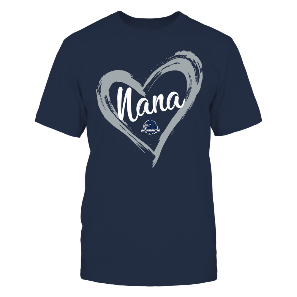 Monmouth Hawks - Drawing Heart - Nana Front picture